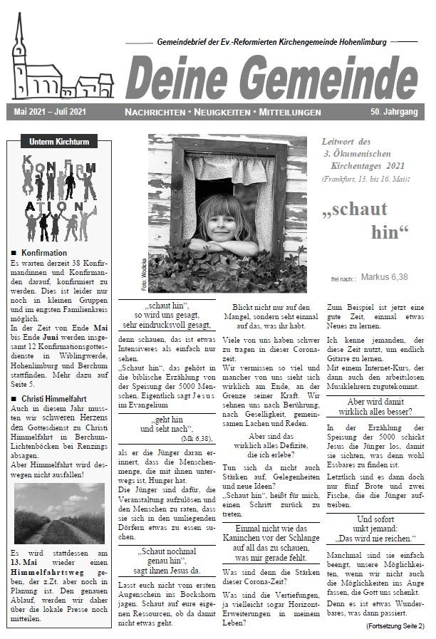 Gemeindezeitung GZeitung_2021_05