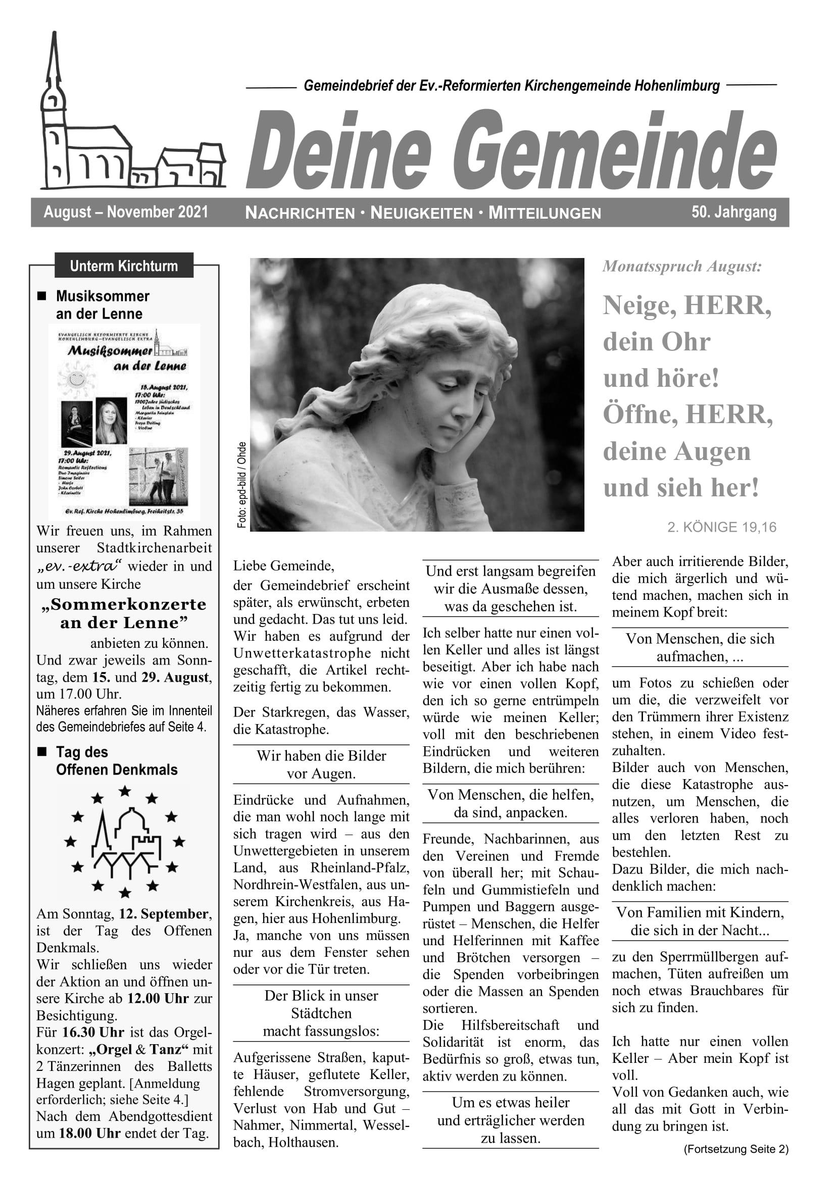 Gemeindezeitung GZeitung_2021_08